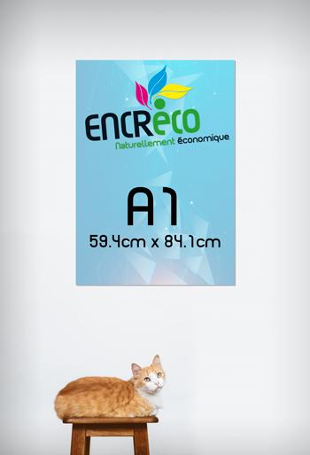 Aperçu du Format A1 (59.4cm x 84.1cm)