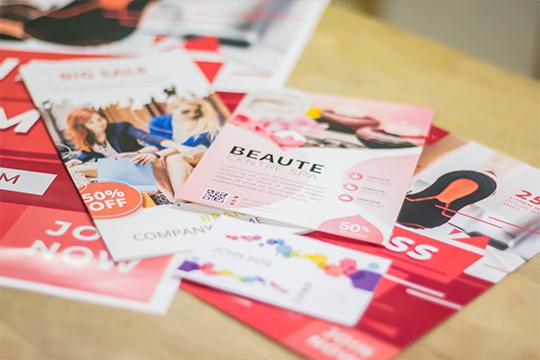 Impression laser ; flyer, affiche, dépliant, brochure et carte de visite chez Encre'Eco Angouleme